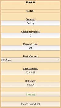 Training Diary screenshot 2