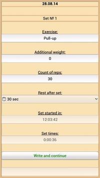 Training Diary screenshot 3