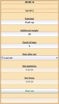 Training Diary screenshot 4