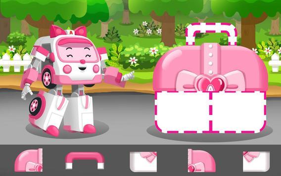 Robocar Poli Concrete Rescue Game screenshot 1