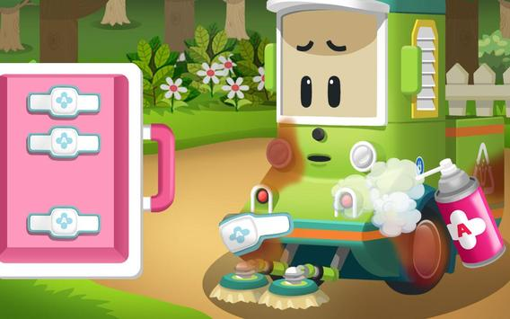Robocar Poli Concrete Rescue Game screenshot 2
