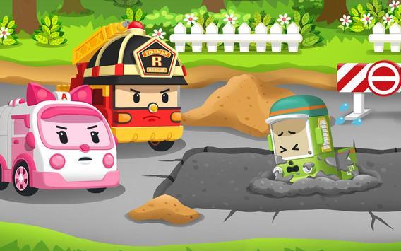Robocar Poli Concrete Rescue Game screenshot 3