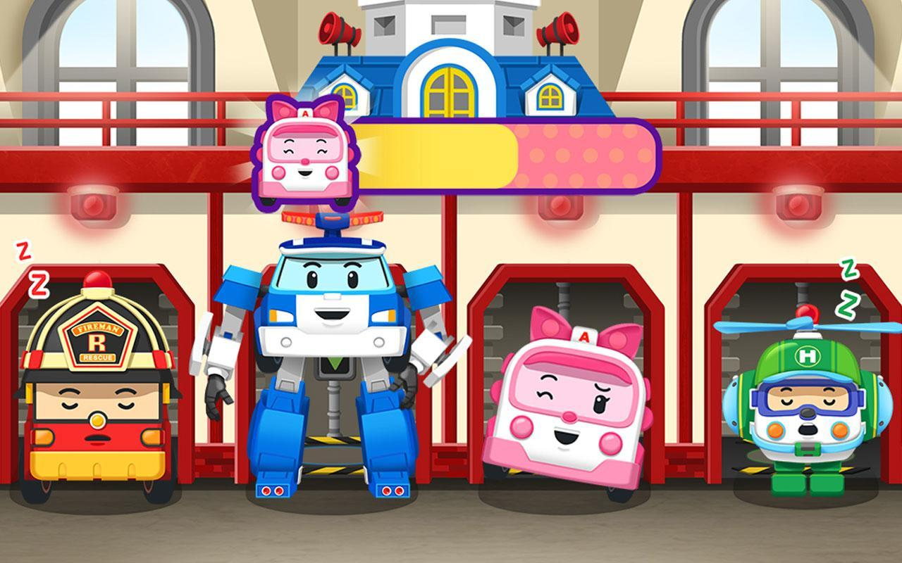 Robocar Poli Habit Kids Game Package для андроид скачать Apk