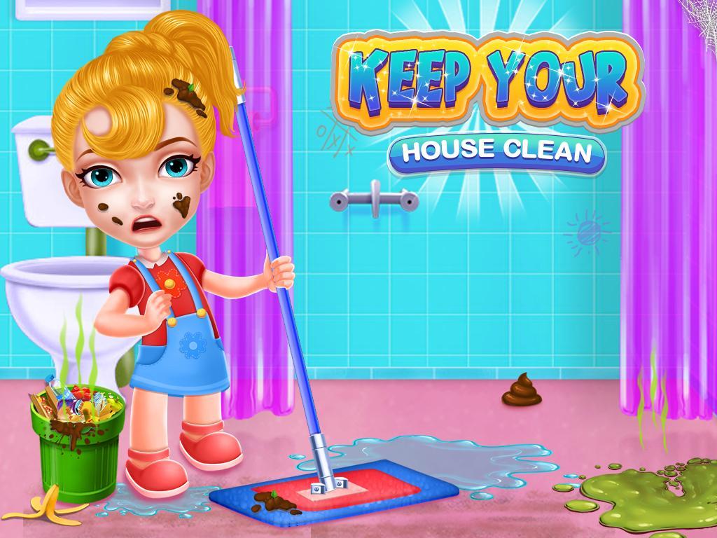 Mantener su juego de limpieza limpiar casa for Android - APK ...