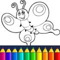 Animals: animal coloring book game