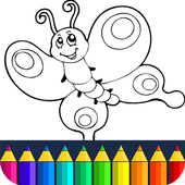 Animals: animal coloring book game icon