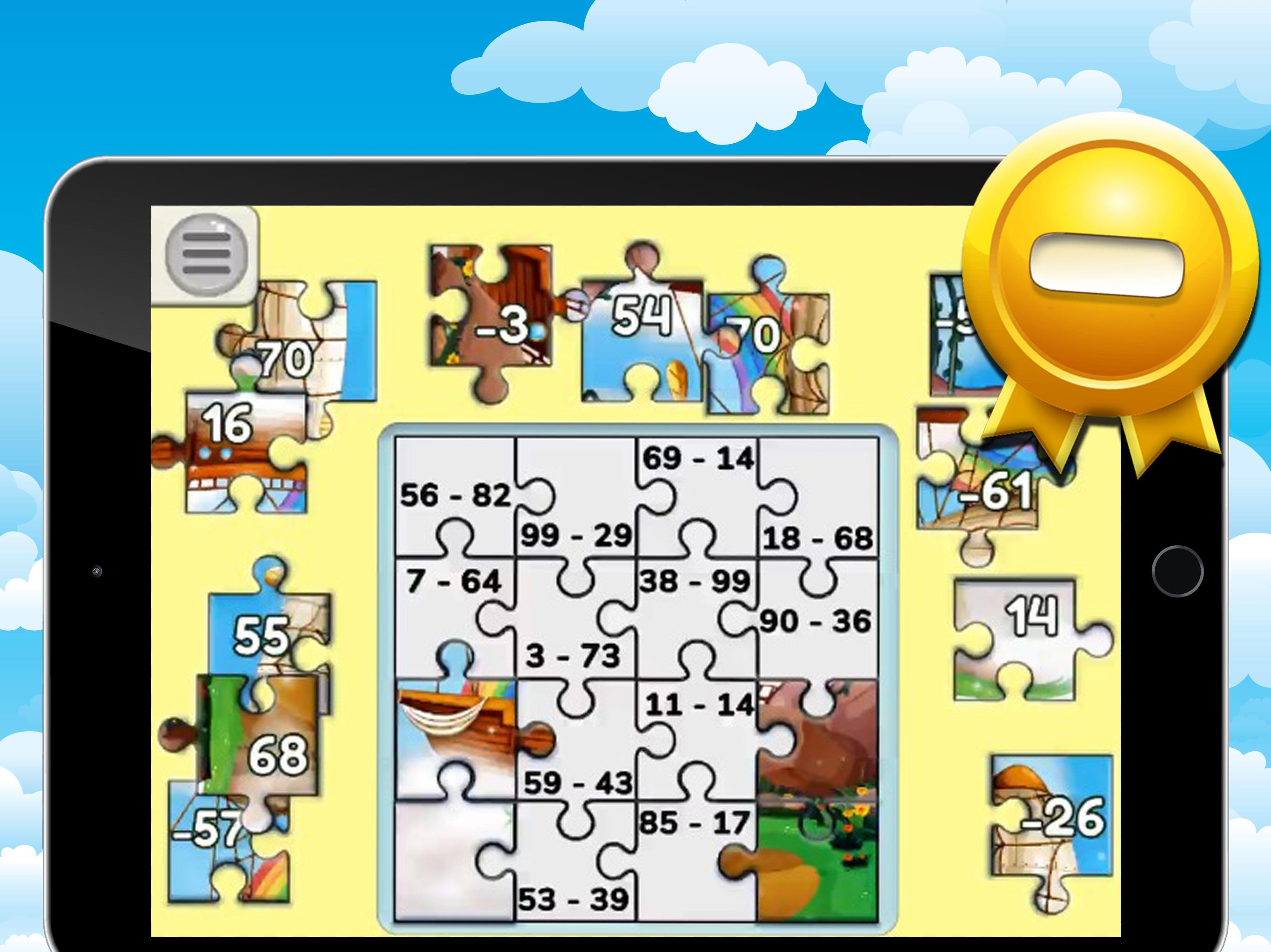 Jigsaw Puzzles لعبة ضرب وقسمة جمع وطرح للأطفال For Android Apk Download
