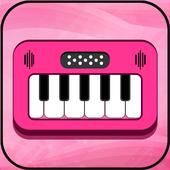 Pink Piano Keyboard icon