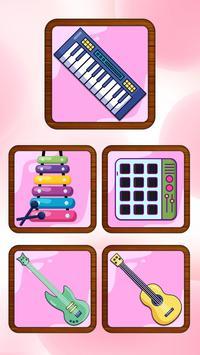 Pink Piano Keyboard poster