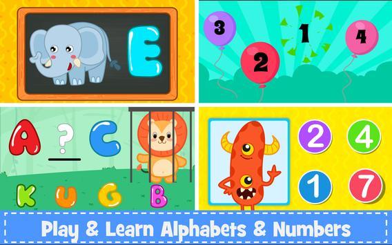 儿童学前学习游戏 截图 2