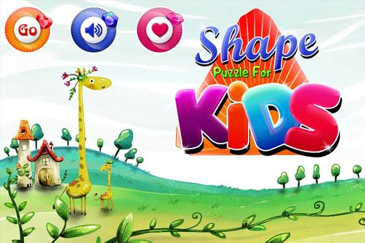 Kids Puzzle for Shape poster
