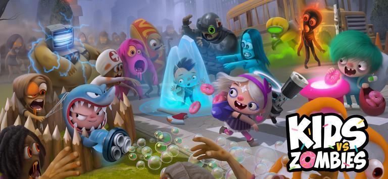 Kids vs Zombies: Brawl for Donuts screenshot 1
