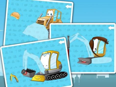 Kids construction vehicles screenshot 4