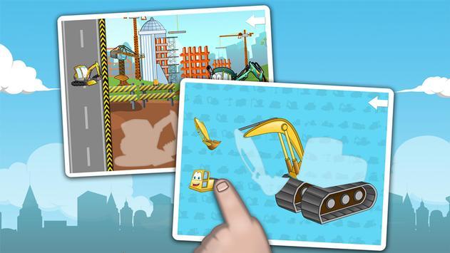 Kids construction vehicles screenshot 6