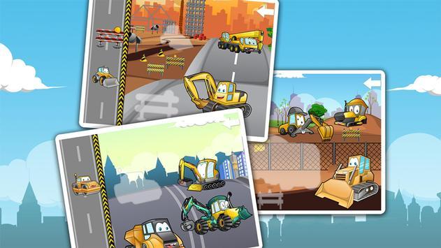 Kids construction vehicles screenshot 8