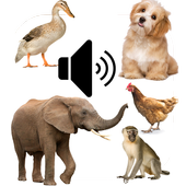 Animal Sounds App for Kids icon