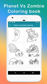 Plants vs Zombies coloring book screenshot 2