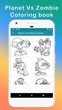 Plants vs Zombies coloring book screenshot 5