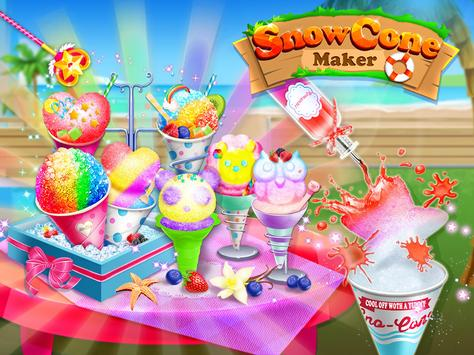 Snow Cone Maker - Frozen Foods poster