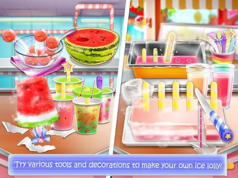 Ice Cream Lollipop Maker - Cook & Make Food Games poster