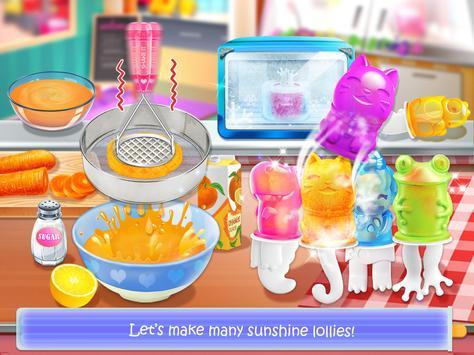 Ice Cream Lollipop Maker - Cook & Make Food Games capture d'écran 10