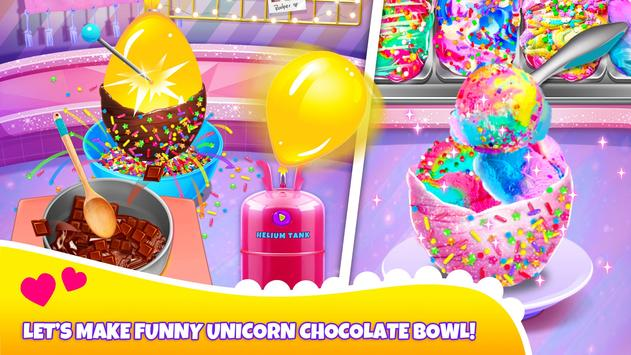 Girl Games: Unicorn Cooking Games for Girls Kids screenshot 3