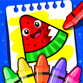 Fruits Coloring icon