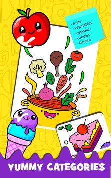 Fruits Coloring screenshot 2