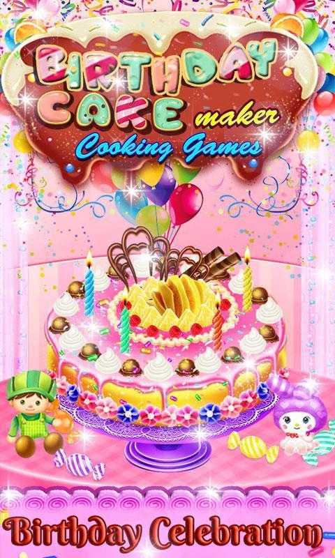 Cooking Game 4 Birthday Cake Maker 5