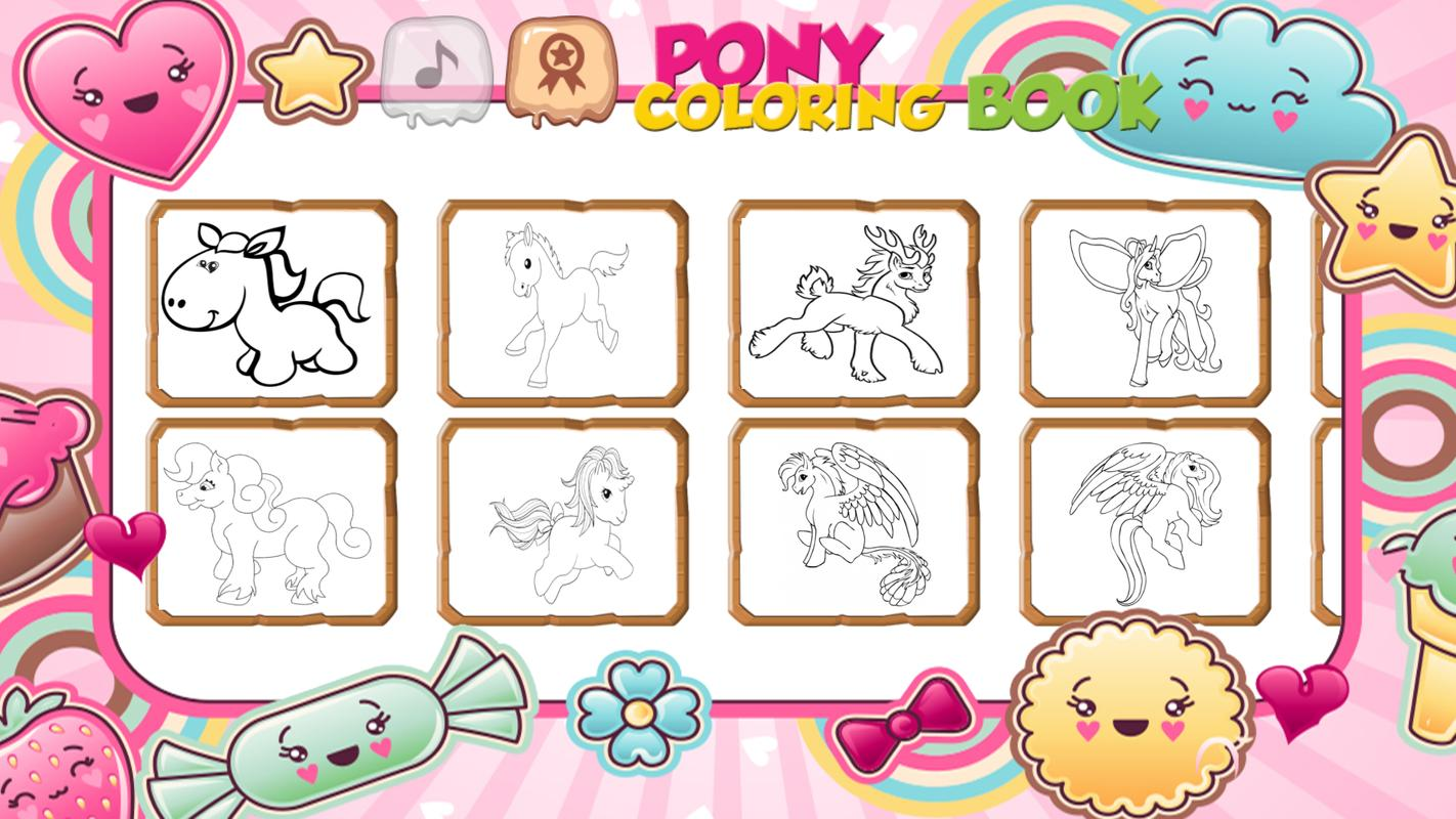 Little Pony Mewarnai Buku For Android Apk Download
