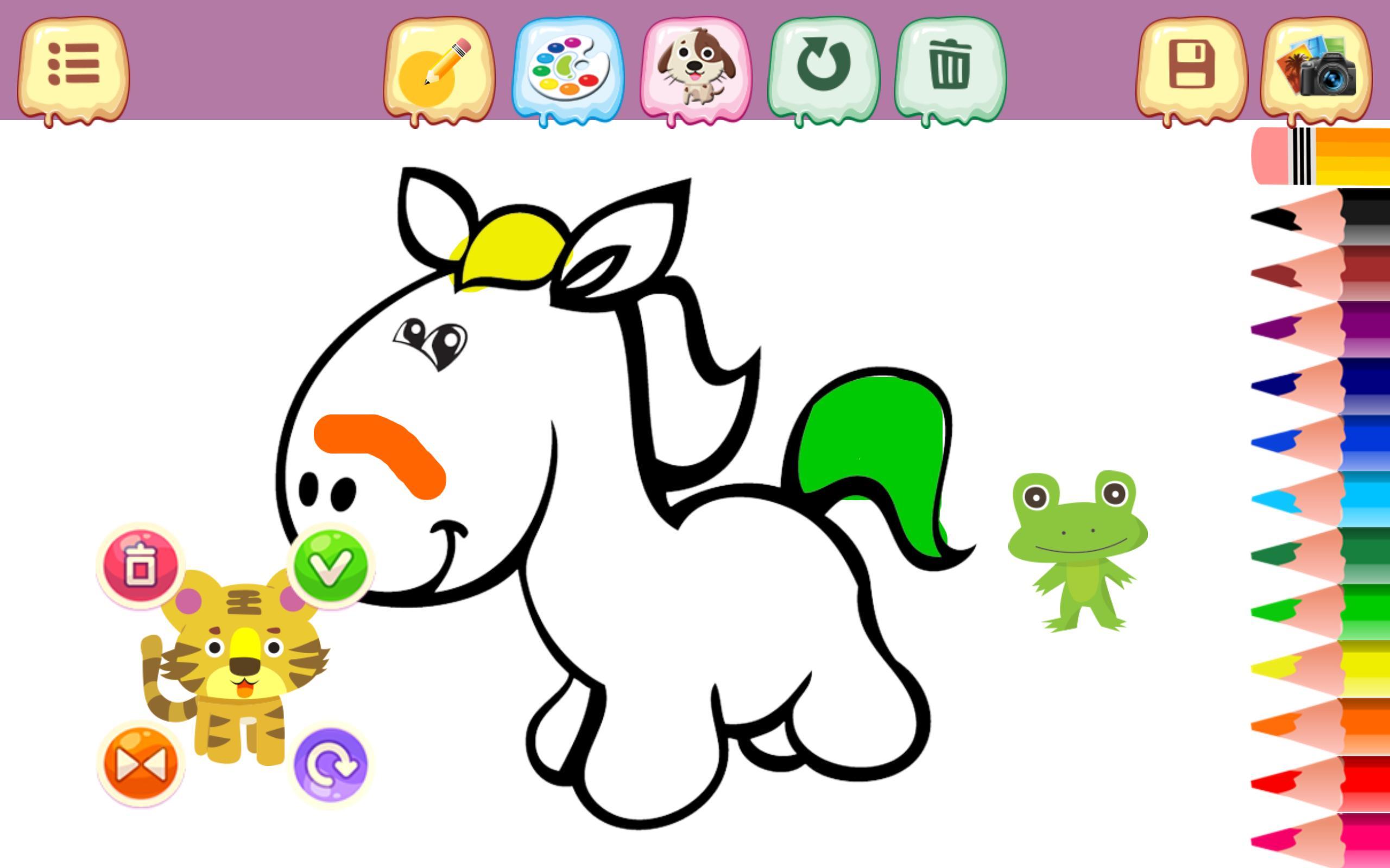 Android Icin Kucuk Pony Boyama Kitabi Apk Yi Indir