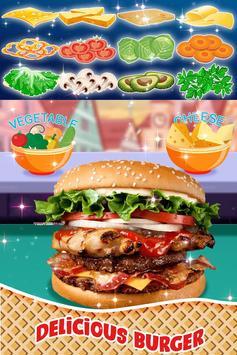🌭🍔 Burger maker - 🍳🍟 French Fries Cooking game screenshot 1