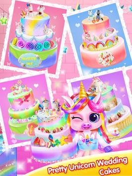 Unicorn Wedding Cake Trendy Rainbow Party For Android Apk Download