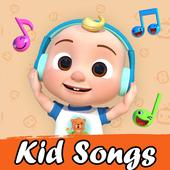 Kid songs and Nursery Rhymes videos for kids 图标