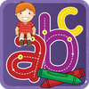 ABC tracing games for kids icon