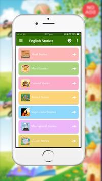 1000 English Stories (Offline) Ekran Görüntüsü 1