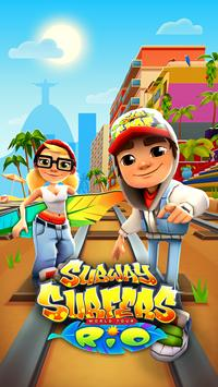 Subway Surfers постер