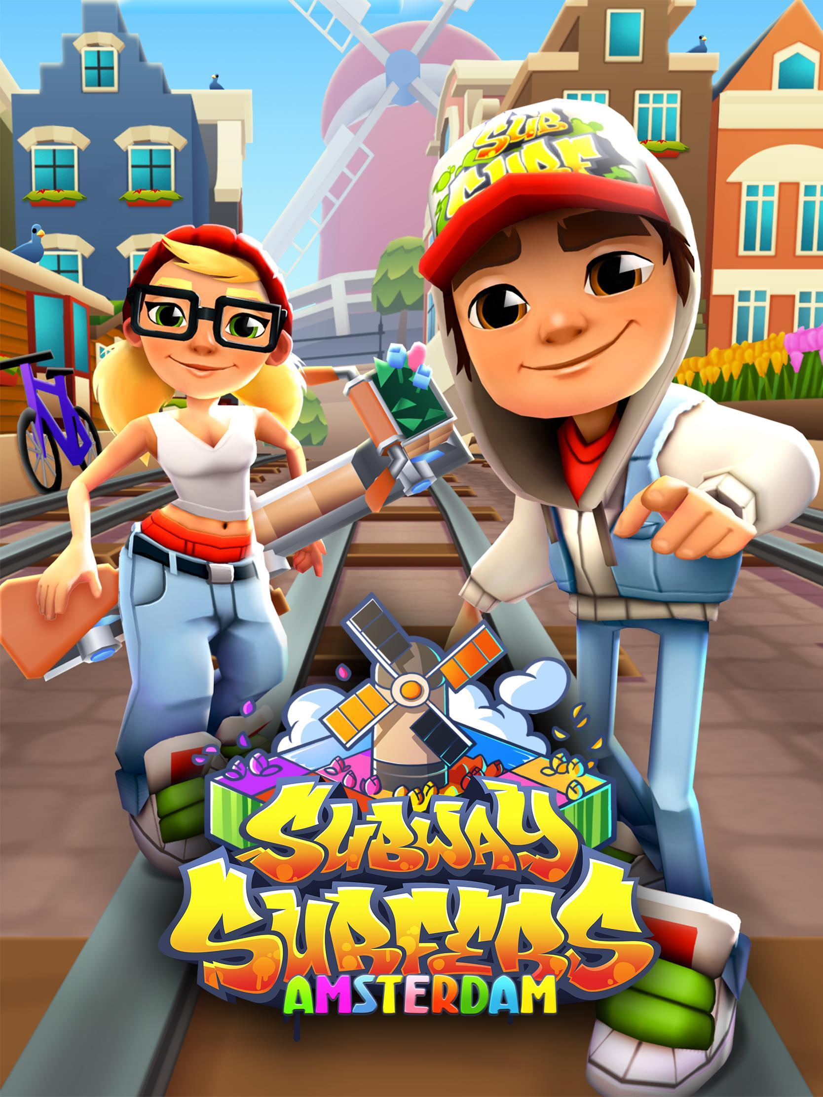 Its Time To Ride The Seoul Train On The Subway Surfers