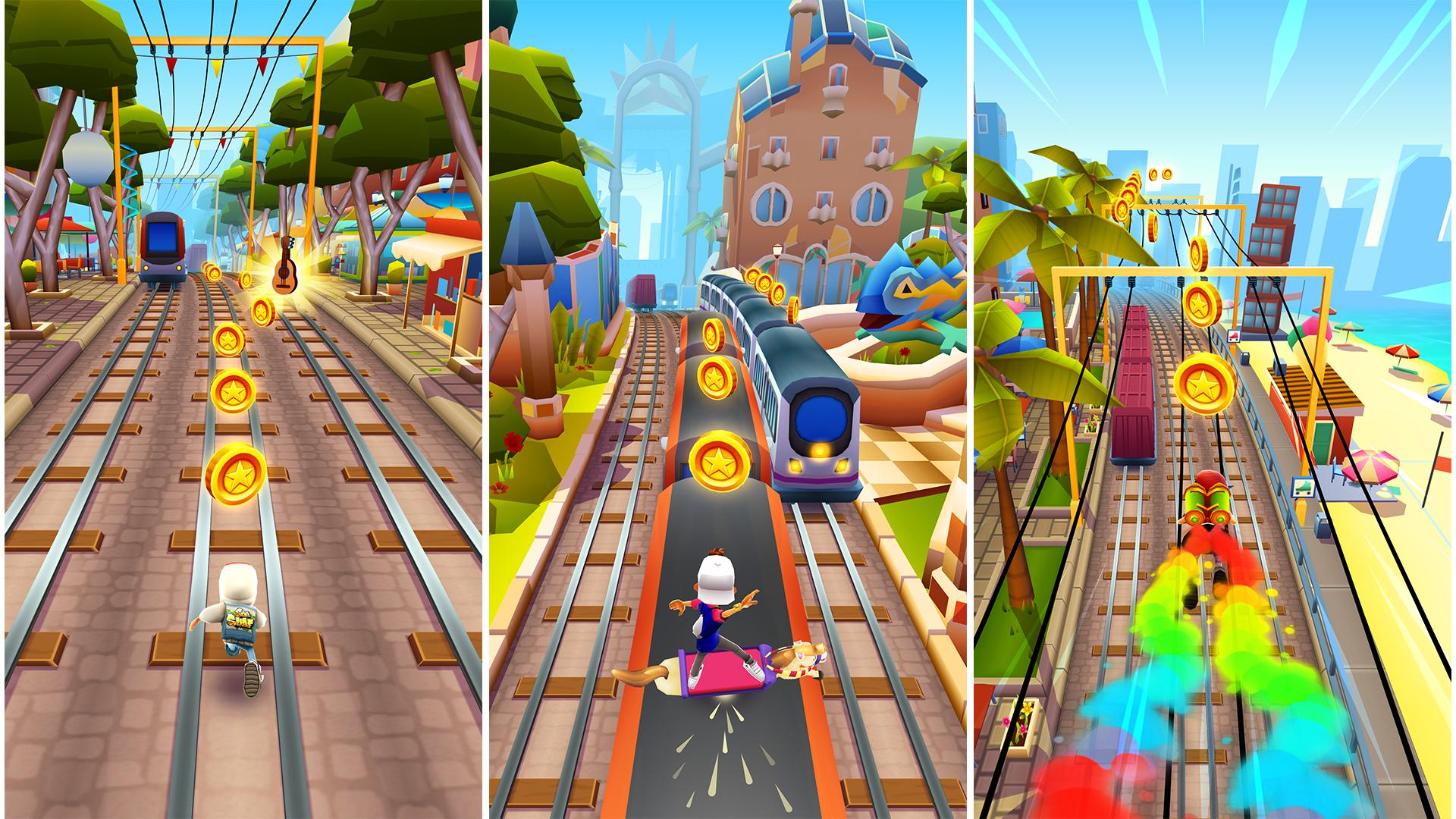 Subway Surfers download app for Android - eenternet