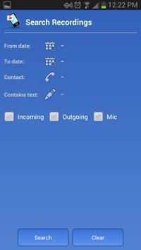 Galaxy S8通话录音应用程序 截图 4