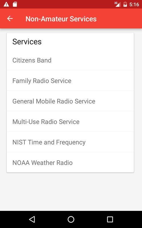 ... US Amateur Radio Band Plan screenshot 18 ...