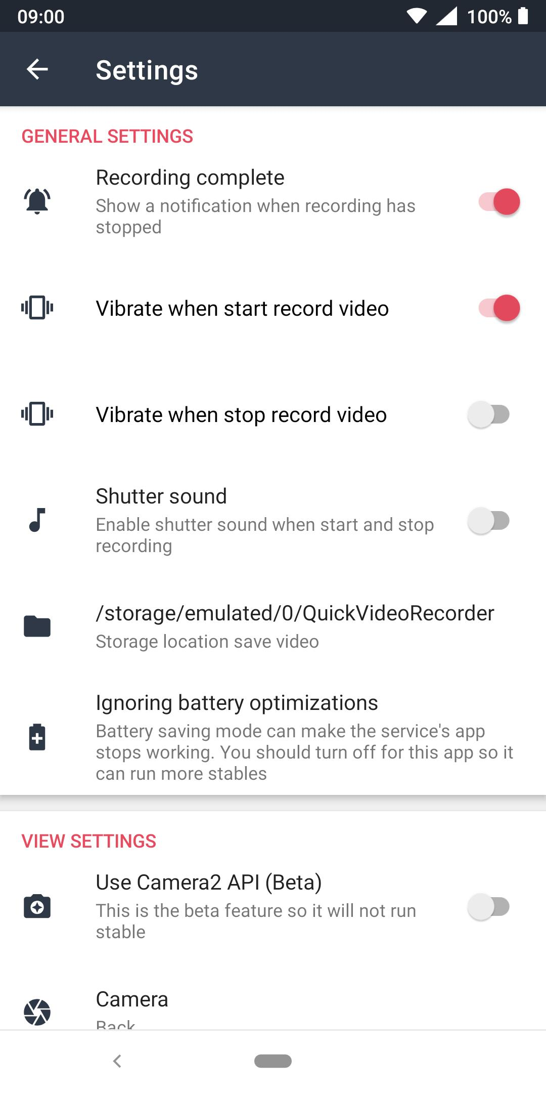 Quick Video Recorder for Android - APK Download