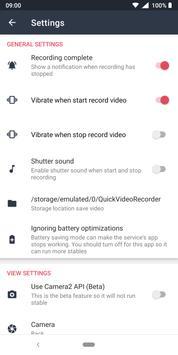 Quick Video Recorder screenshot 4