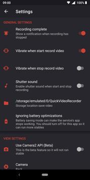 Quick Video Recorder screenshot 5