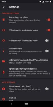 Background Video Recorder - Quick Video Recorder screenshot 6