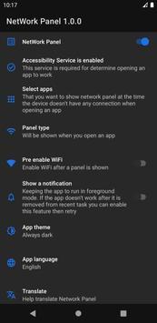 WiFi auto connect - WiFi automatic - NetworkPanel Screenshot 1