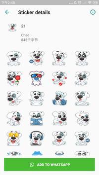 Cute Stickers for WhatsApp, WAStickerApps screenshot 2