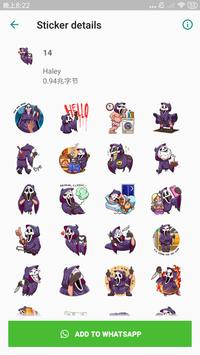 Halloween Stickers for WhatsApp, WAStickerApps screenshot 2