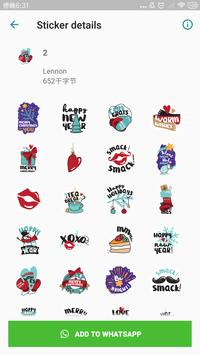 New Year Stickers for WhatsApp, WAStickerApps screenshot 1