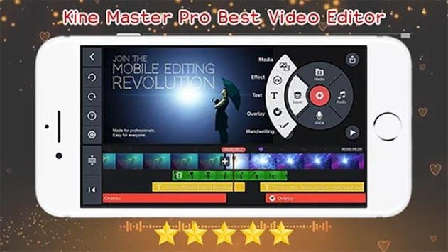 Kine Master Pro Video Editor - Tips Guide poster